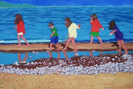 Island View Beach - by Diane Adolph