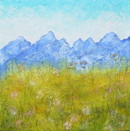 Mountain Meadow - by Diane Adolph