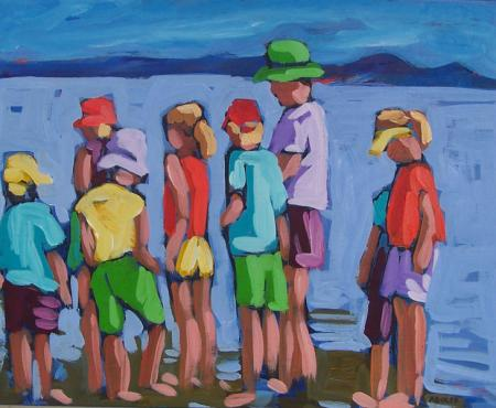 Sidney Spit - by Diane Adolph