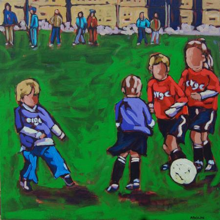 Soccer - by Diane Adolph